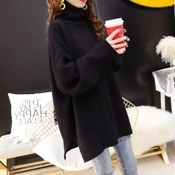 CHICEVER-Korean-Knitted-Sweater-Women-Turtleneck-Lantern-Long-Sleeve-Oversize-Pullover-Sweaters-Female-2020-Autumn-Fashion-1.jpg