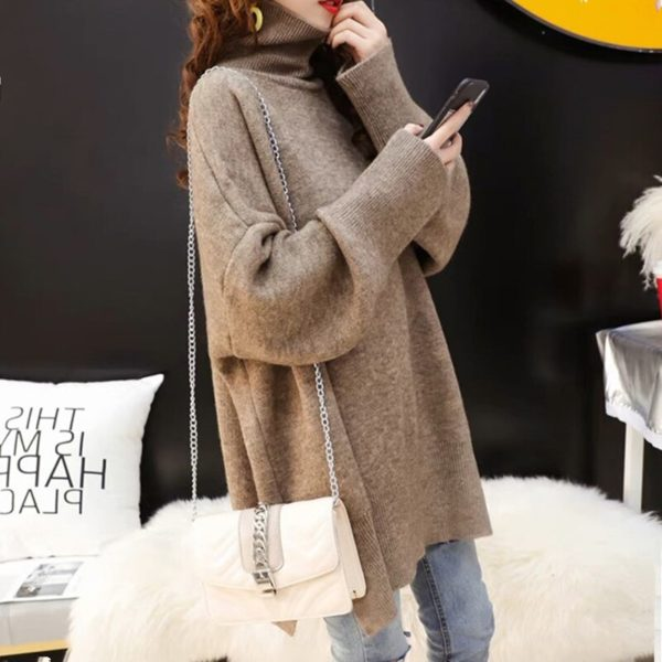 CHICEVER-Korean-Knitted-Sweater-Women-Turtleneck-Lantern-Long-Sleeve-Oversize-Pullover-Sweaters-Female-2020-Autumn-Fashion-2.jpg