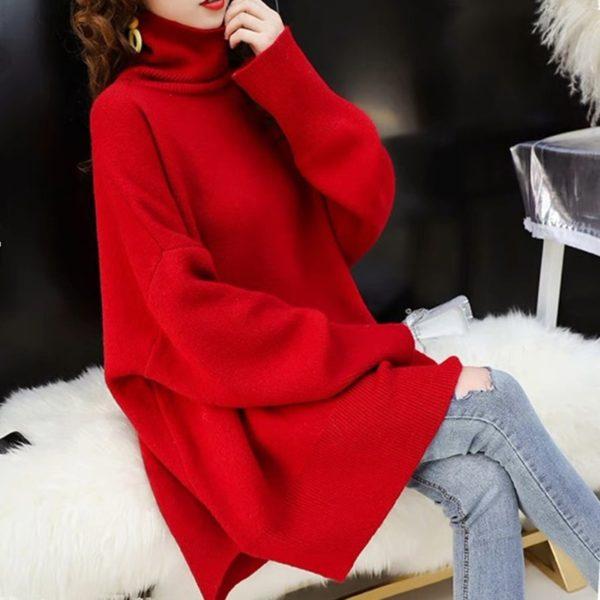 CHICEVER-Korean-Knitted-Sweater-Women-Turtleneck-Lantern-Long-Sleeve-Oversize-Pullover-Sweaters-Female-2020-Autumn-Fashion-5.jpg