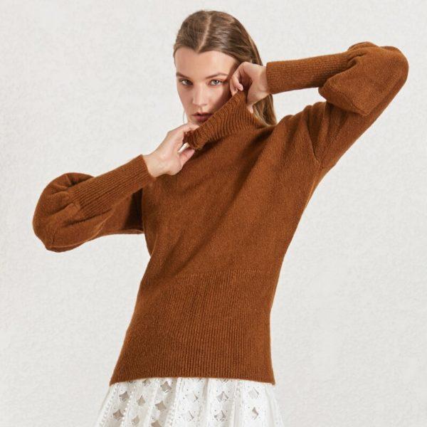 CHICEVER-Korean-Knitted-Women-s-Sweater-Turtleneck-Lantern-Sleeve-Knitting-Pullover-Sweaters-Female-2019-Autumn-Winter-2.jpg