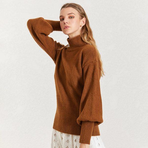 CHICEVER-Korean-Knitted-Women-s-Sweater-Turtleneck-Lantern-Sleeve-Knitting-Pullover-Sweaters-Female-2019-Autumn-Winter-3.jpg
