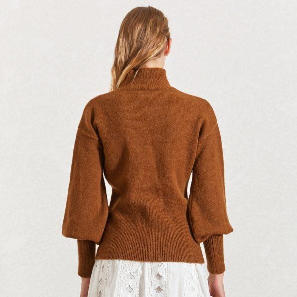 CHICEVER-Korean-Knitted-Women-s-Sweater-Turtleneck-Lantern-Sleeve-Knitting-Pullover-Sweaters-Female-2019-Autumn-Winter-4.jpg