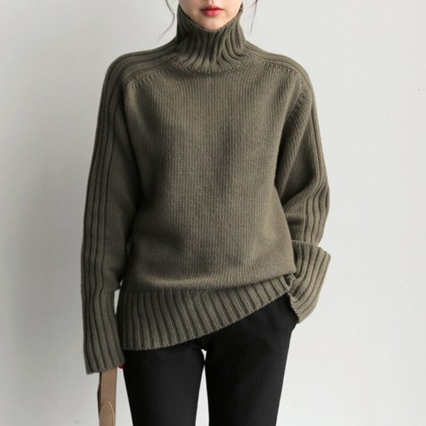 CHICEVER-Korean-Knitted-Women-s-Sweater-Turtleneck-Lantern-Sleeve-Loose-Oversize-Casual-Sweaters-Female-2019-Autumn-2.jpg