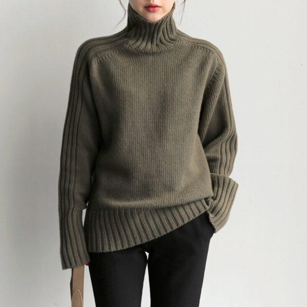 CHICEVER-Korean-Knitted-Women-s-Sweater-Turtleneck-Lantern-Sleeve-Loose-Oversize-Casual-Sweaters-Female-2019-Autumn-2.jpg