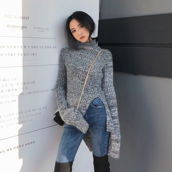 CHICEVER-Korean-Side-Split-Knitted-Sweater-For-Women-Turtleneck-Long-Sleeve-Oversize-Loose-Casual-Sweaters-Female-2.jpg