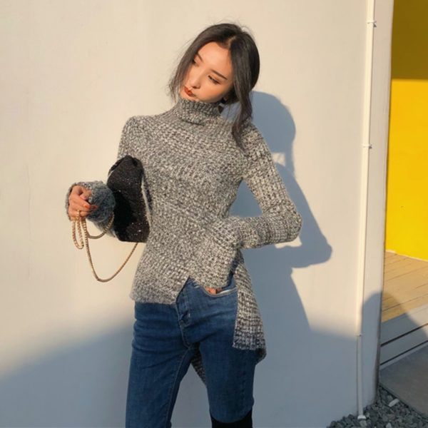 CHICEVER-Korean-Side-Split-Knitted-Sweater-For-Women-Turtleneck-Long-Sleeve-Oversize-Loose-Casual-Sweaters-Female-3.jpg