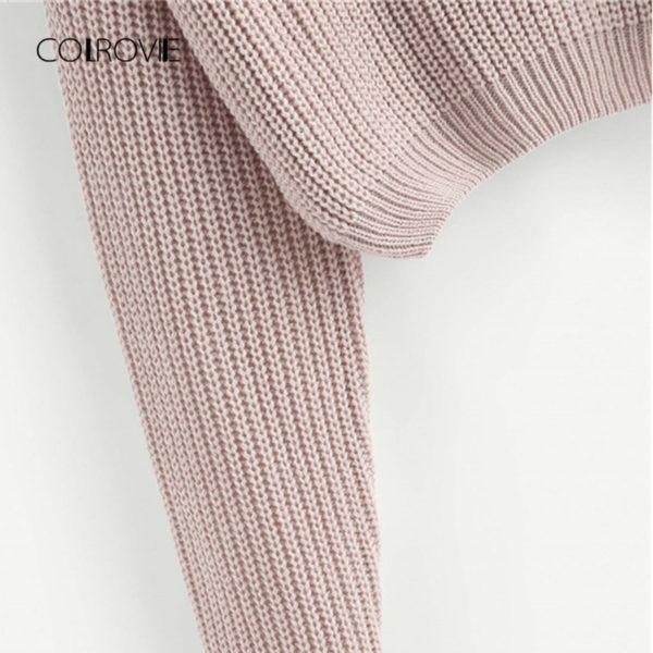 COLROVIE-Pink-Korean-Criss-Cross-V-Back-Winter-Crop-Knitted-Sweater-Women-Clothes-2018-Autumn-Pullover-3.jpg