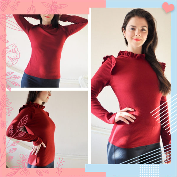 Dotfashion-Burgundy-Frill-Trim-Solid-Long-Sleeve-Tee-Shirt-Women-Casual-Autumn-Stand-Collar-Tops-Slim-4.jpg