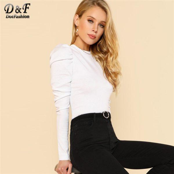 Dotfashion-Puff-Sleeve-Rib-Knit-Long-Sleeve-Tee-Shirt-Women-2020-Tops-Autumn-Elegant-T-Shirt-3.jpg