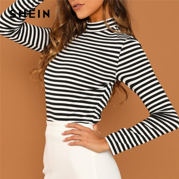 SHEIN-Modern-Lady-Black-and-White-Slim-Fit-Mock-Neck-High-Neck-Striped-Rib-Knit-T-3.jpg