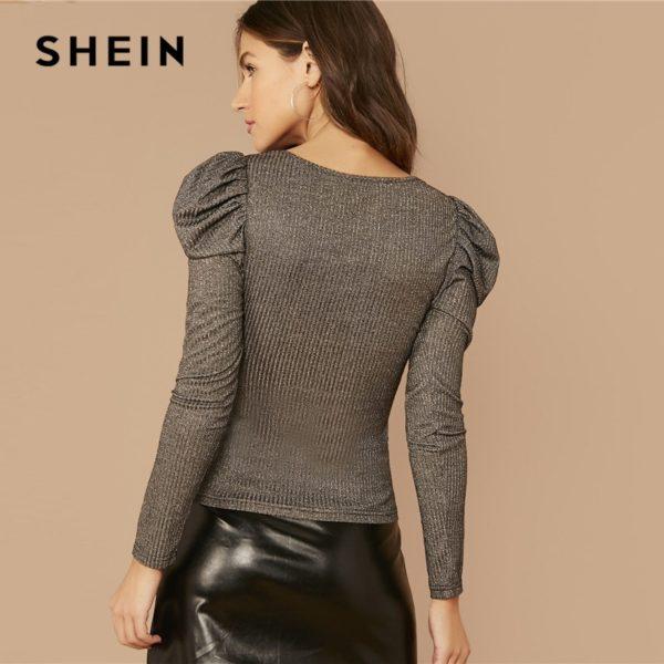 SHEIN-Silver-V-neck-Gigot-Sleeve-Glitter-Tee-Women-Spring-Tshirt-Puff-Shoulder-Rib-Knitted-Glamorous-1.jpg