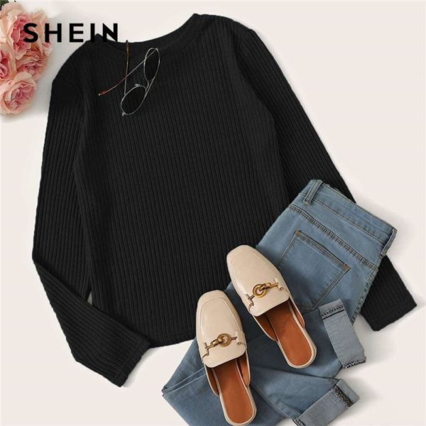 SHEIN-Solid-Round-Neck-Ribbed-Knit-Casual-T-Shirt-Women-Tees-2019-Autumn-Long-Sleeve-Office-3.jpg