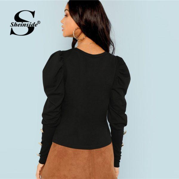 Sheinside-Black-Puff-Sleeve-T-shirt-Women-Button-Detail-Long-Sleeve-Tee-Shirt-Autumn-Elegant-Ladies-3.jpg