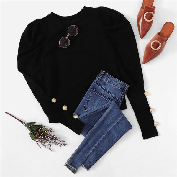 Sheinside-Black-Puff-Sleeve-T-shirt-Women-Button-Detail-Long-Sleeve-Tee-Shirt-Autumn-Elegant-Ladies-5.jpg