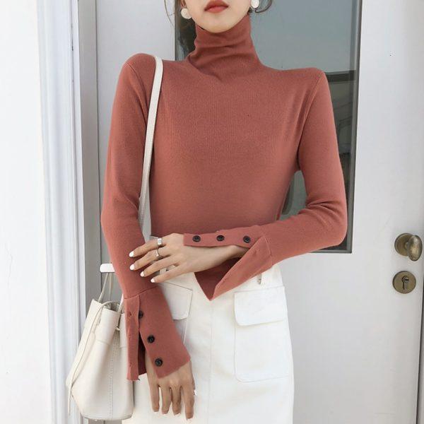 TWOTWINSTYLE-Autumn-Turtleneck-Knitwears-Women-Long-Sleeve-Cuff-Split-Slim-Korean-Pullover-Sweater-Casual-Fashion-2019-1.jpg