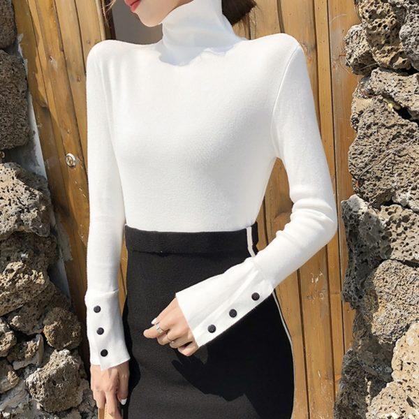 TWOTWINSTYLE-Autumn-Turtleneck-Knitwears-Women-Long-Sleeve-Cuff-Split-Slim-Korean-Pullover-Sweater-Casual-Fashion-2019-2.jpg