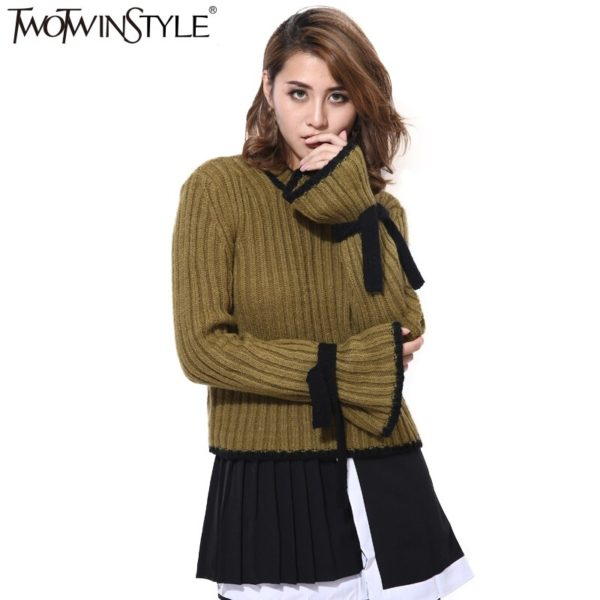 TWOTWINSTYLE-Flare-Sleeve-Knitted-Pullover-Women-s-Sweater-Lace-Up-Long-Sleeve-Tops-Female-Clothes-Korean-1.jpg