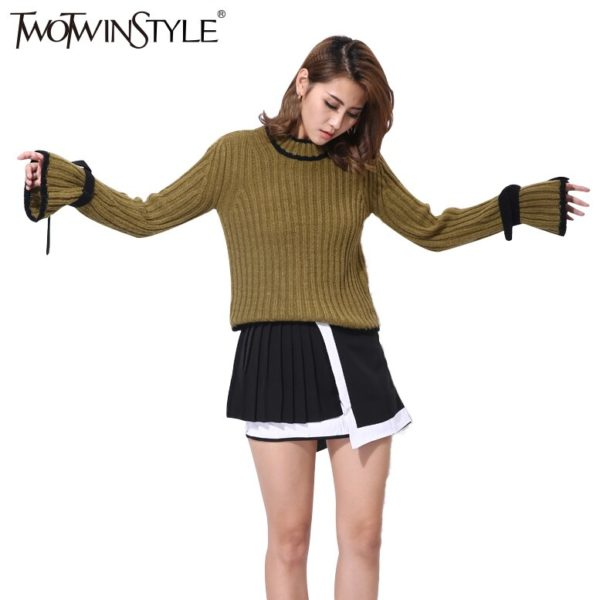 TWOTWINSTYLE-Flare-Sleeve-Knitted-Pullover-Women-s-Sweater-Lace-Up-Long-Sleeve-Tops-Female-Clothes-Korean-2.jpg