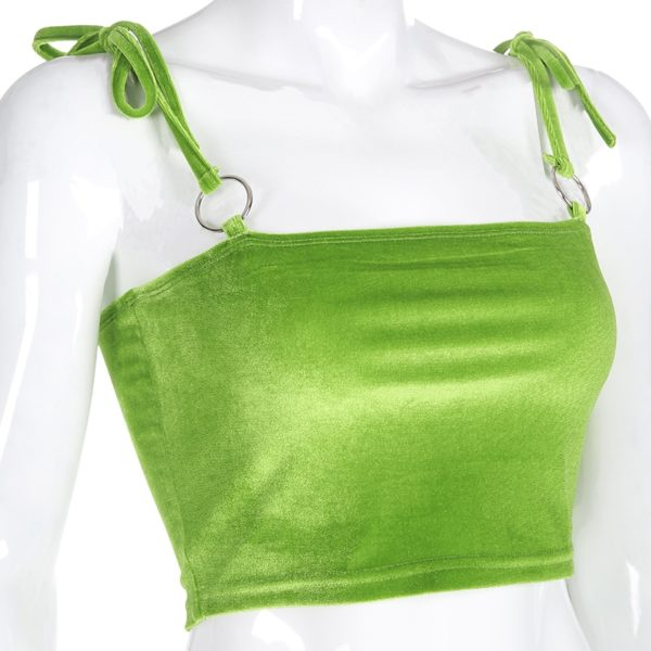 Summer-Sexy-Cami-Women-Bandage-Velvet-Crop-Top-Club-Party-Fluorescent-Green-Strap-Top-Vest-Short-3.jpg