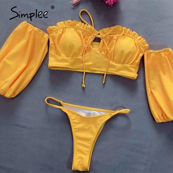 Simplee-Sexy-ruffle-lantern-bikini-Bandeau-off-shoulder-solid-two-piece-swimwear-Summer-beach-wear-swimsuits-4.jpg