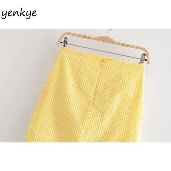 Summer-Skirts-Womens-Yellow-Plaid-Drawstring-Draped-High-Waist-Mini-Skirt-Sexy-LDZZ6105-5.jpg