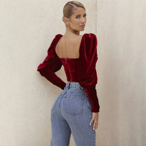 Cryptographic-Square-Collar-Vintage-Fashion-Velvet-Top-and-Blouse-Shirts-Women-Elegant-Lantern-Sleeve-Tops-Sexy-5.jpg