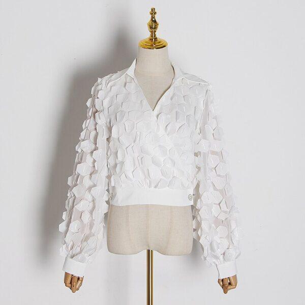 TWOTWINSTYLE-Black-Splicing-Sequin-Shirt-For-Women-V-Neck-Lantern-Long-Sleeve-Casual-Female-Shirt-Blouse-1.jpg