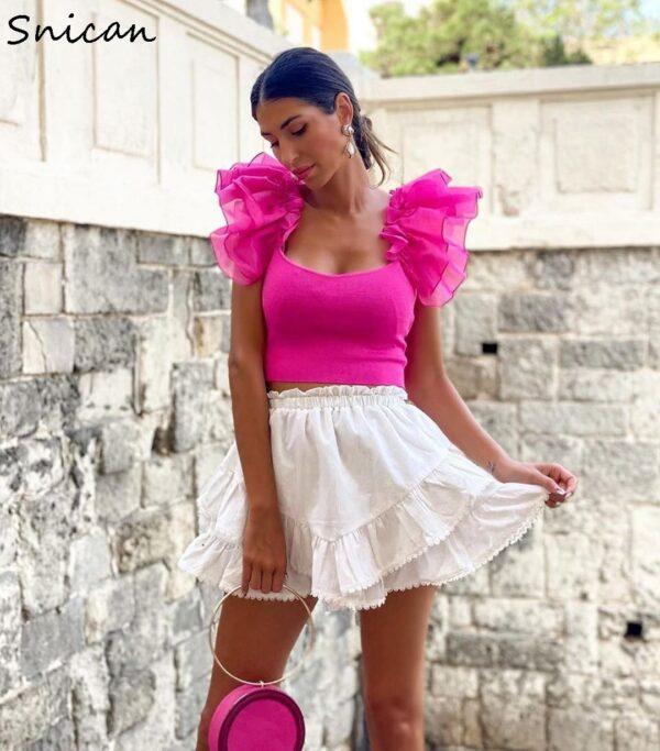 summer-chiffon-blouse-women-transparent-organza-pink-puff-ruffle-sleeve-back-bow-blouse-sexy-slim-short-1.jpg