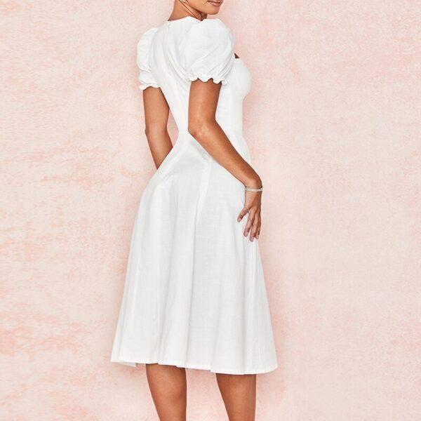 Jenniferkiss-Women-Puff-Sleeve-A-line-Party-Midi-Dress-White-High-Split-Sexy-Dresses-Women-2021-3.jpg