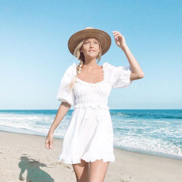 BOHO-INSPIRED-puff-sleeve-mini-Sexy-white-party-dress-ruffle-summer-dress-square-neck-elastic-bust-4.jpg