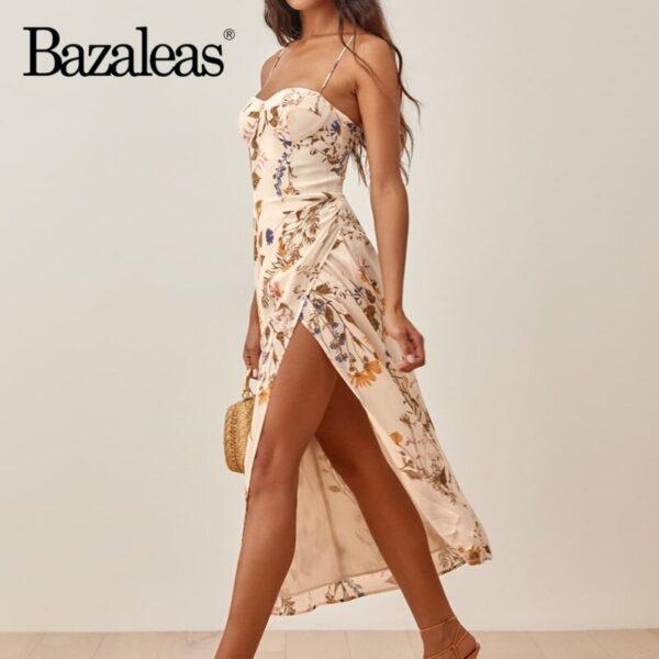 Bazaleas-Chic-Yellow-Floral-Print-Cream-Adjust-Spaghetti-Strap-Dress-Sexy-Side-Split-Vestidos-Vintage-Tube-1.jpg