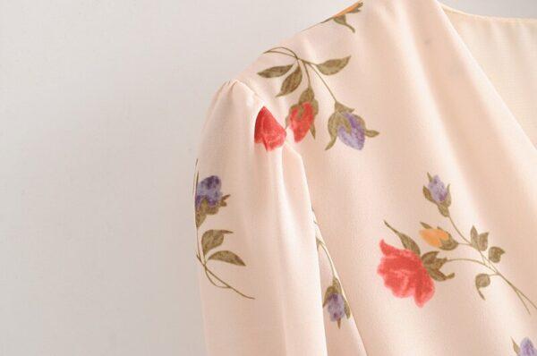 Bazaleas-Vintage-Flowers-Print-vestidos-France-V-Neck-Dress-Fashion-Center-Buttons-Dresses-Elegant-Half-Sleeve-3.jpg
