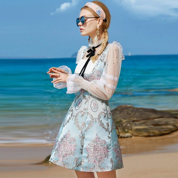 DEAT-2021-Summer-New-Fashion-Tide-Stand-up-Collar-High-Waist-Flare-Sleeve-Bow-Printing-3.jpg