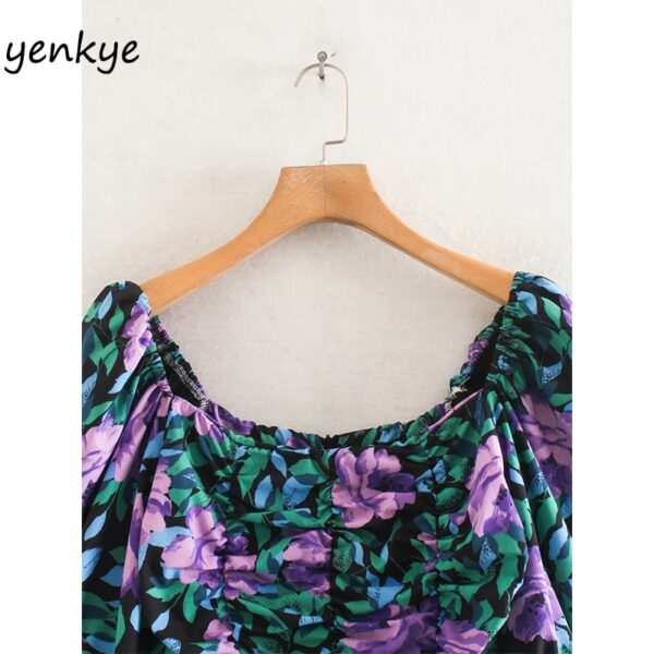 Fashion-Women-Elastic-Draped-Bodycon-Mini-Dress-Sexy-Lady-Square-Neck-Puff-Sleeve-Floral-Print-Summer-2.jpg