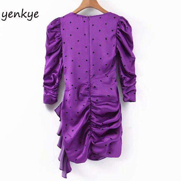 Fashion-Women-Vintage-Polka-Dot-Draped-Bodycon-Mini-Dress-Female-Puff-Sleeve-O-Neck-Purple-Summer-1.jpg