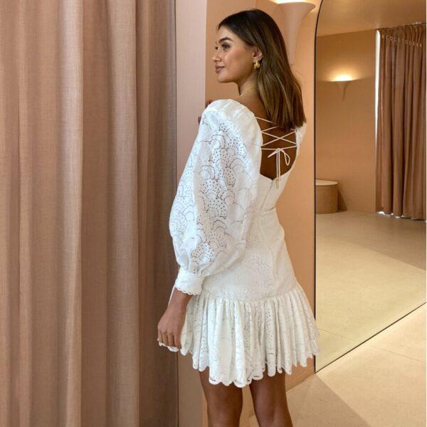 High-Quality-2021-Summer-Sexy-V-neck-Lantern-Long-Sleeve-Hollow-Lace-Up-Dress-Elegant-Women-1.jpg