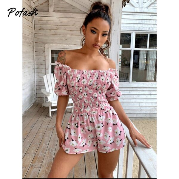 Pofash-Ruffle-Floral-Print-Ruched-Women-Playsuits-High-Waist-Ruffle-Summer-Rompers-Backless-Puff-Sleeves-Jumpsuits-3.jpg