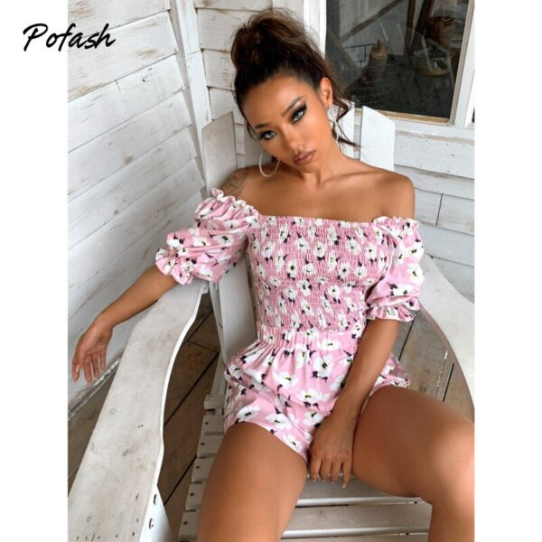 Pofash-Ruffle-Floral-Print-Ruched-Women-Playsuits-High-Waist-Ruffle-Summer-Rompers-Backless-Puff-Sleeves-Jumpsuits-4.jpg