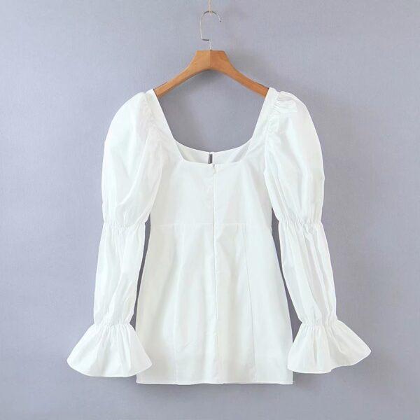 Spring-summer-women-mini-dress-cotton-long-flare-sleeves-slim-zipper-short-party-white-draped-dress-2.jpg