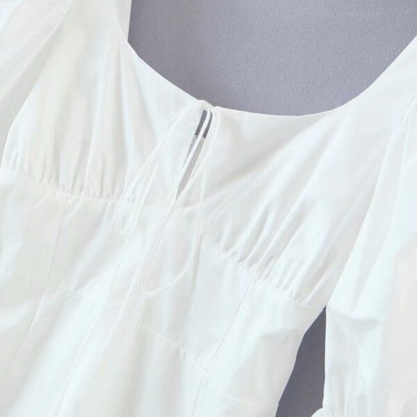 Spring-summer-women-mini-dress-cotton-long-flare-sleeves-slim-zipper-short-party-white-draped-dress-3.jpg