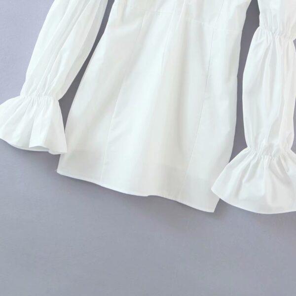 Spring-summer-women-mini-dress-cotton-long-flare-sleeves-slim-zipper-short-party-white-draped-dress-4.jpg