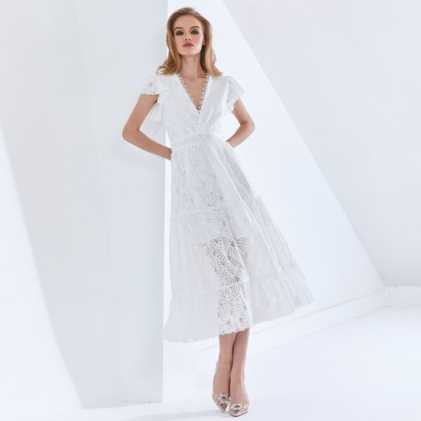 TWOTWINSTYLE-Hollow-Out-Elegant-Women-s-Dress-V-Neck-Short-Sleeve-High-Waist-Patchwork-Lace-White-1.jpg