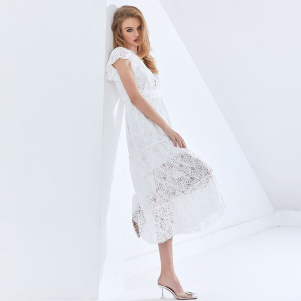 TWOTWINSTYLE-Hollow-Out-Elegant-Women-s-Dress-V-Neck-Short-Sleeve-High-Waist-Patchwork-Lace-White-3.jpg