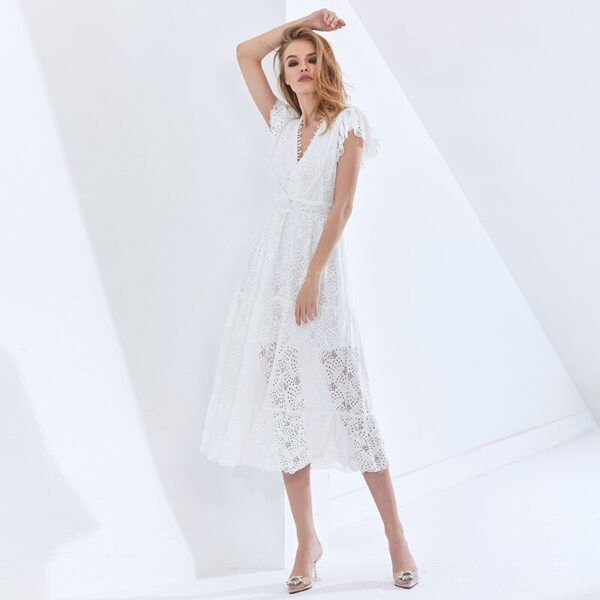 TWOTWINSTYLE-Hollow-Out-Elegant-Women-s-Dress-V-Neck-Short-Sleeve-High-Waist-Patchwork-Lace-White-4.jpg