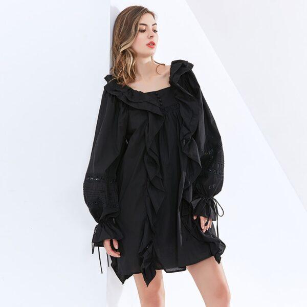 TWOTWINSTYLE-Minimalist-Patchwork-Ruffle-Dress-For-Women-Square-Collar-Lantern-Sleeve-High-Waist-Mini-Dresses-Female-3.jpg