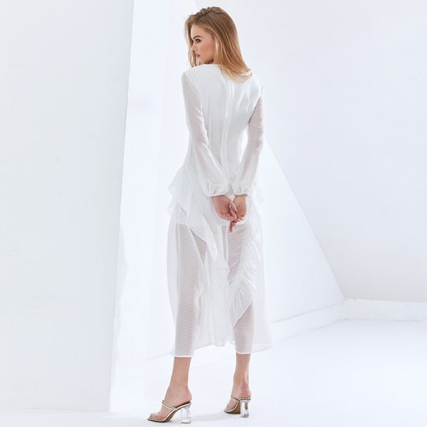 TWOTWINSTYLE-Sexy-Party-Perspective-Dress-For-Women-V-Neck-Long-Sleeve-High-Waist-Slim-Ruffle-White-5.jpg