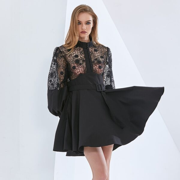 TWOTWINSTYLE-Sexy-Patchwork-Lace-Dress-For-Women-Stand-Collar-Lantern-Sleeve-High-Waist-Hollow-Out-Midi-4.jpg
