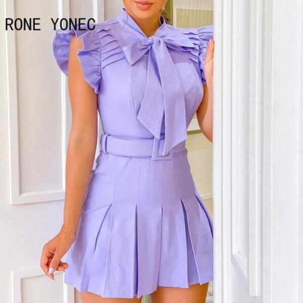 Women-Elegant-Dress-Ruffles-Tie-Neck-Ruched-Casual-Dress-Ruffles-Casual-Dress-1.jpg