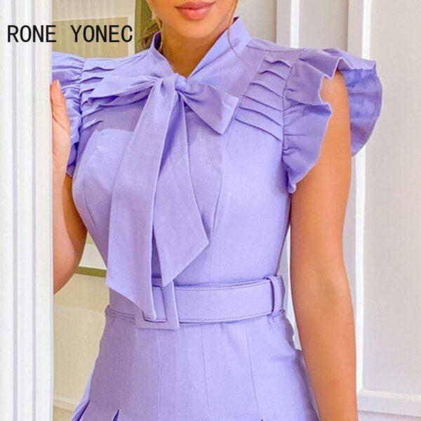 Women-Elegant-Dress-Ruffles-Tie-Neck-Ruched-Casual-Dress-Ruffles-Casual-Dress-2.jpg