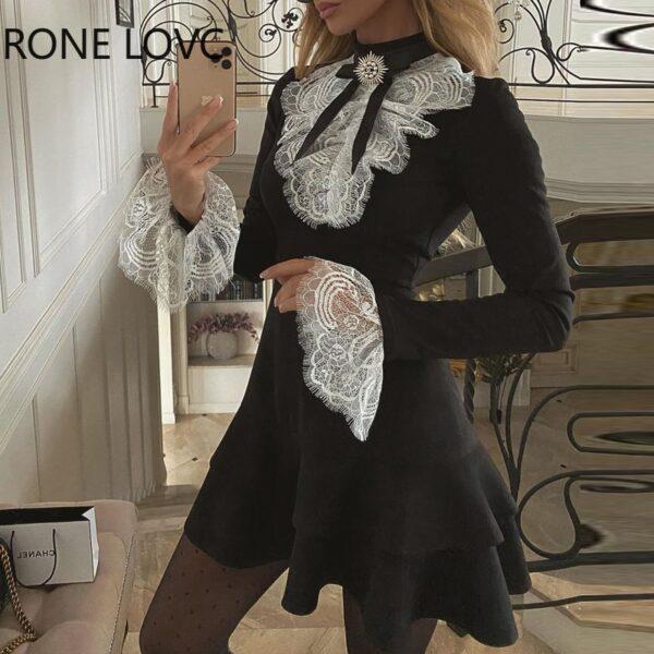 Women-Eyelash-Lace-Bell-Sleeve-Ruffles-Dress-Party-Dress-Elegant-Fashion-Dress-1.jpg